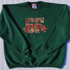 Sweaters - Green crewneck